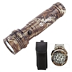 Mossy Oak Camouflage Aluminum LED Flashlight