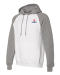 Russell Athletic - Dri Power Colorblock Raglan Hooded Sweatshirt - 693HBM