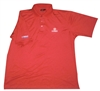 84 Lumber Build USA Red Polo