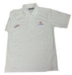 84 Lumber Build USA White Polo