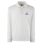 Long Sleeve White Polo AU
