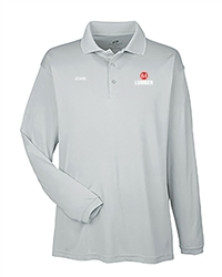 Gray Dry-fit LongSleeve Polo