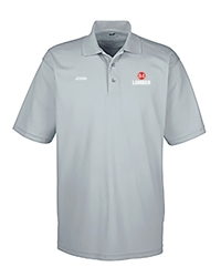 Gray Dry-fit Short Sleeve Polo