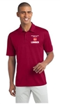 IDS Hauler Performance Polo Red