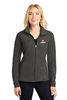 Port Authority Ladies Heather Microfleece Full-Zip Jacket