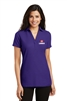 Port Authority Ladies Silk Touch™ Y-Neck Polo