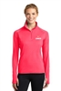 Ladies Stretch 1/2-Zip Pullover
