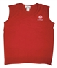Ladies Red V-Neck Vest