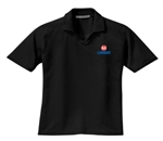 Ladies Black Golf Polo