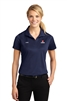 Ladies Navy Dry-fit Short Sleeve Polo