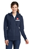 Ladies Classic Full-Zip Hooded Sweatshirt