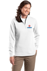 Ladies 1/4-Zip Sweatshirt