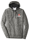 Sport-Tek PosiCharge Heather Fleece Hood Pullover