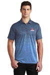 Sport-Tek Ombre Heather Polo