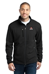 Pique Fleece Jacket Tall - 2XLT - Black