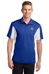 Side Blocked Micropique Sport-Wick Polo Tall