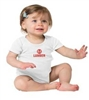 0-6 MONTH INFANT 1-PIECE WHITE