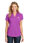 Port Authority Ladies Digi Heather Performance Polo L574