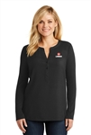 Port Authority Ladies Concept Henley Tunic