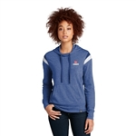 New Era Ladies Heritage Blend Varsity Hoodie LNEA108