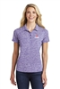Sport-Tek Ladies Electric Heather Polo
