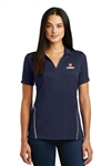 Sport-Tek Ladies Contrast Tough Polo