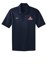 Navy Dry-fit Short Sleeve Polo