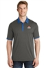 Sport-Tek Heather Contender Contrast Polo